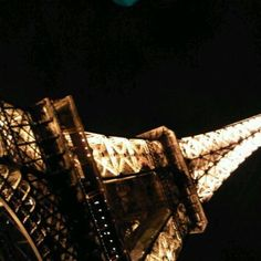 Eiffel Tower at night! Paris