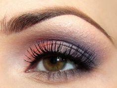 Coral & Purple eyes