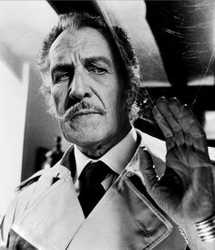 Vincent Price was born on this day in The notoriously superstitious actor once joked that he kept a horseshoe, a crucifix and a mezuzah on his front door. Price was one of a kind. Famous Men, Famous Faces, Hollywood Stars, Old Hollywood, Peter Cushing, Classic Horror Movies, Classic Films, Star Wars, Horror Icons