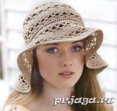chapeau pour maman et sa fille : un chapeau d'été qui peut être fait autant pour une femme que pour une fille, vous trouverez toutes les explications