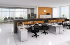 Great blog post ~~ cubicles versus modular furniture.