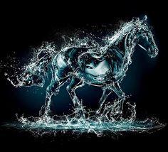 horse water creative art background for tablets 3d Desktop Wallpaper, Tier Wallpaper, Horse Wallpaper, Hd Cool Wallpapers, Background Hd Wallpaper, Animal Wallpaper, Art Background, Photo Wallpaper, Desktop Wallpapers