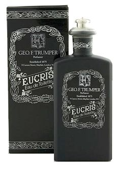Eucris Geo. F. Trumper cologne - a fragrance for men 1912. Good enough for James Bond good enough for me.