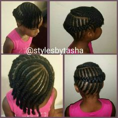 Little girls braids style