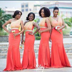 Be Ready To Be Wowed: Enthralling & Enchanting Bridesmaids Dresses - Wedding Digest NaijaWedding Digest Naija