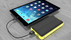 You need the rugged ZeroLemon SolarJuice 20,000mAh battery backup