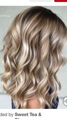 Hair waves hairstyles look wonderful and can work for any hair type. Check out o… Hair waves hairstyles look wonderful and can work for any hair type. Check out our best ideas how to make your hair wavy and natural… Continue Reading → Bronde Balayage, Bayalage, Bronde Hair, Stylish Hair, Cool Hair Color, Hair Color For Tan Skin, Beige Hair Color, Types Of Hair Color, Pretty Hairstyles