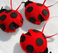 Ladybug ornament  Kids  Pinterest  Ladybugs Ladybug and Ornaments