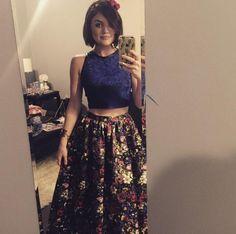 Lucy Hale dans l'épisode 9 de la saison 6 de Pretty Little Liars, on copie son look de bal de promo ! #PrettyLittleLiars #Look