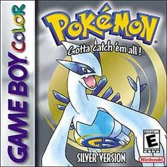 Pokemon Silver for  the Gameboy Color.