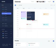 jpg by Faria Anzum Project Dashboard, Dashboard App, Dashboard Interface, Dashboard Design, User Interface Design, Modern Web Design, Web Ui Design, Graphic Design, Calendar Ui