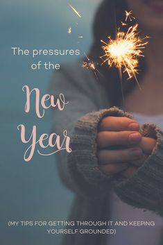 Find yourself making resolutions you don't keep every New Year? Here are some of my tips for getting through the pressures of the new year and why it's important.