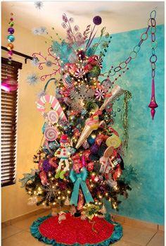 Candy land X-Mas tree decoration