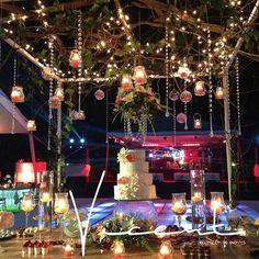 decoracion mesa de partel boda