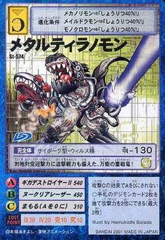 MetalTyranomon Hyper Colosseum card (St-574 Ultimate Battle Deck 3)