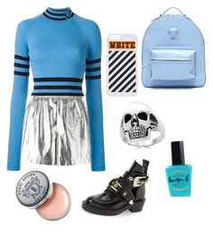 Untitled #6 by indahif on Polyvore featuring polyvore Versace M Missoni Balenciaga Effy Jewelry Off-White Bobbi Brown Cosmetics Lauren B. Beauty fashion style clothing