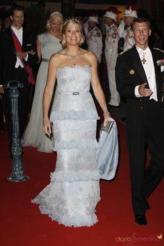 Crown Princess Maxima of Holland with Prince Joachim of Denmark: Monaco Royal Wedding
