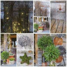 Tee se itse -ideoita puutarhaan