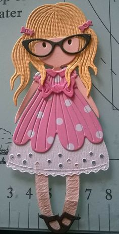 Created by Sue Beasley Paper Quilt, Spellbinders Cards, Dress Up Dolls, Cricut Cards, Vintage Paper Dolls, Magnolias, Amigurumi Doll, Creative Cards, Kids Cards
