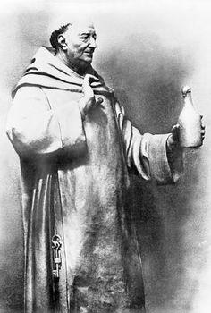 "Dom Pierre Perignon; Benedictine Monk and creator of champagne ""I am drinking stars!"""