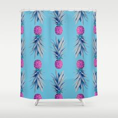 You're the pineapple of my eye shower curtain