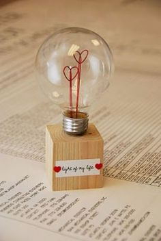 Best DIY Valentines Day Gifts - Light Of My Life Lamp - Cute Mason Jar Valentines Day Gifts and Crafts for Him and Her | Boyfriend, Girlfriend, Mom and Dad, Husband or Wife, Friends - Easy DIY Ideas for Valentines Day for Homemade Gift Giving and Room Dec