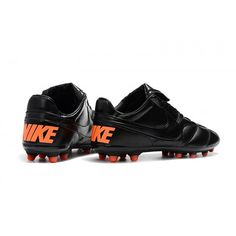 Nike Premier II 2.0 FG Svarta Röd Fotbollsskor cba9958cc7