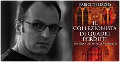 Fabio Delizzos autore del libro «Il collezionista di quadri perduti»