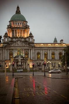 The City Hall, Belfast, County Antrim, Northern Ireland. The City Hall in Durban is almost identical. Places Around The World, Oh The Places You'll Go, Places To Travel, Places To Visit, Around The Worlds, Belfast Northern Ireland, Galway Ireland, Cork Ireland, Ireland Food