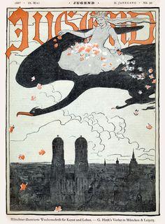 Fritz Erler Cover Art 1897