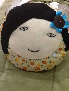Smiley cute pillow