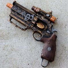 Steampunk weapons.... love