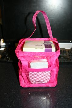 Thirty One Littles Carry All Caddy  with a Scentsy Plug in and Bar - Perfect for gifts! I made this one for a friend!! Of course she loved it!
