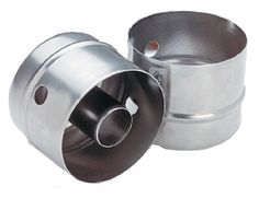 "Set of 2 - Stainless Steel 3"" Doughnut Cutters With and Without a Hole *Heavy Duty Construction* ChefLand http://www.amazon.com/dp/B00EBX0YKI/ref=cm_sw_r_pi_dp_zW.Hub19FT9DJ"