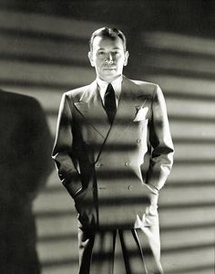 Somewhat forgotten by far too many modern lovers today: George Raft, from the 1940s