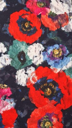 floral discovered by DÂ on We Heart It Art And Illustration, Illustrations, Textile Patterns, Print Patterns, Textiles, Poster Mural, Pattern Art, Top Pattern, Flower Prints