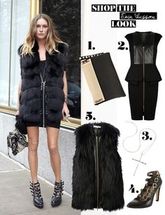 Shop the Look_StyleStar_Erin Wasson Erin Wasson, Star Fashion, Must Haves, Fur Coat, Fashion Looks, Jackets, Shopping, Fashion Styles, Down Jackets