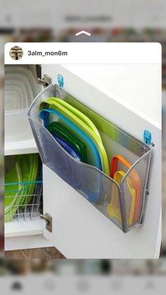51 Amazing Diy Kitchen Organization And Storage Hacks Ideas – White N Black Kitchen Cabinets Diy Casa, Ideas Para Organizar, Kitchen Pantry, Organized Kitchen, Kitchen Ideas, Kitchen Small, Kitchen Shelves, Smart Kitchen, Cheap Kitchen