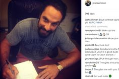 Astro do UFC é encontrado em coma e luta pela vida - Yahoo Esportes