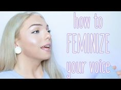Hi I hope this feminizing voice training video is helpful to you - if you know any trans people that want to train their voice, you can direct t. Trans Mtf, Transgender Tips, Mtf Transition, Captions Feminization, Male To Female Transformation, Feminize Me, After Life, Girl Tips, Crossdressers