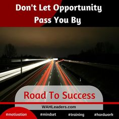 Start your road to success with training and developing the right mindset.  #workfromhome #acn #countrygourmethome #directsales #dubli #entrepreneur #future #homebasedbiz #herbalife #isagenix #itworks #javita #mlm #mca #networkmarketing #nuskin #onlinemarketing #pamperedchef #seacret #training #thrive #wahm #younique