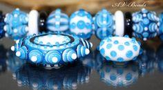 AVBeads handmade Lampwork Set SRA by AVBeads on Etsy, €68.95