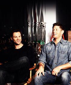 Cutest Smiles <3 #SupernaturalCast #J2
