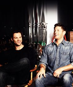 Cutest Smiles <3 #SupernaturalCast #J2