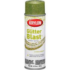 krylon glitter spray paint - Google Search