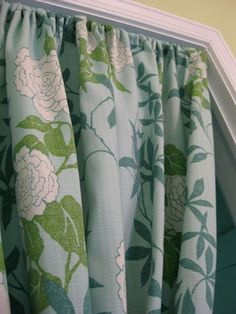 A HANDMADE COTTAGE   How To Make Curtains Without Sewing (in Minutes!) | DIY  To Try | Pinterest | Beautiful, Lace And Cottages