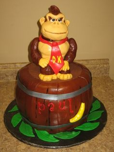 Donkey Kong By flourjuice on CakeCentral.com