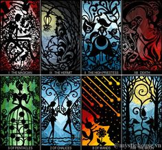 The Silhouettes Tarot