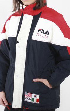 Vintage Fila Puffer Jacket | Frankie Collective