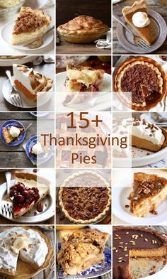 15 Pies perfect for Thanksgiving Thanksgiving Deserts, Holiday Desserts, Holiday Baking, Holiday Recipes, Thanksgiving Baking, Disney Desserts, Quiche, Holiday Pies, Pie Dessert
